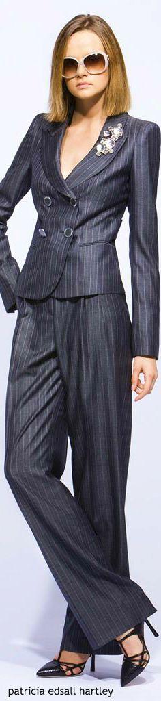women fashion outfit clothing style apparel @roressclothes closet ideas Giorgio Armani