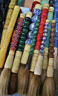 Chinese Brushes (by Dorota Nowak)