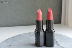 Kiko Milano Smart Fushion Lipsticks 406 & 407