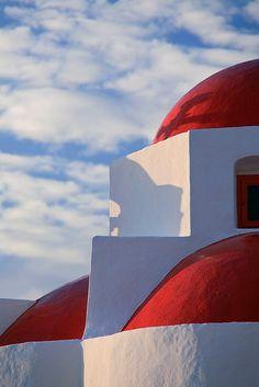 Greece, Hagia Sophia chyrch on Mykonos island, Cyclades Mykonos Island, Mykonos Greece, Crete Greece, Athens Greece, Beautiful Islands, Beautiful Places, Myconos, Greek Isles, Hagia Sophia