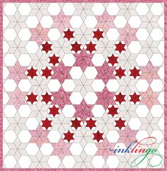 Wednesday Tute 07 – Inklingo Pieced Hexagons