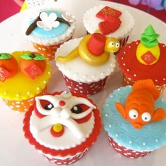 chinese new year cupcakes 2013 - Google Search