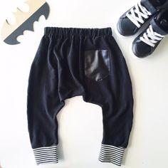 Monochrome Harem Pants - Two Little Stars Little Star, Monochrome, Harem Pants, Kids Outfits, Sweatpants, Stars, Clothes, Fashion, Outfits