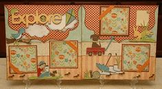 """Monique Griffith Designs: Country Cards, Design Video & New """"Explore"""" Spring Boy Kit"""