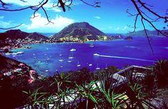 Les saintes. Guadeloupe