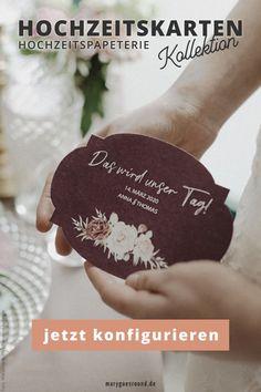 Die romantischen Hochzeitskarten aus der Kollektion kannst du dir   passend zu eurem Hochzeitstag zusammenstellen: Save-the-Date-Karten,   Einladungskarten, Menükarten, Trauungsprogramm/Kirchenheft, Dankeskarten   und mehr passen perfekt zusammen und eure Hochzeitspapeterie wird zum   Hingucker am Hochzeitstag. Stelle dir jetzt euer Set zusammen!   #hochzeitskarten #hochzeitspapeterie #einladungskarten