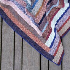 LUTTER IDYL | Generationstæppet | Hæklet Tæppe|Crochet Blanket