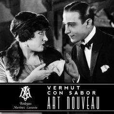 El sex-symbol latino por excelencia, Rodolfo Valentino, nació el mismo año que las bodegas que crearon el vermut más glamuroso de #LaRioja. Bodegas Martínez Lacuesta