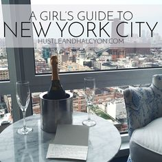 A Girl's Guide to New York City: An Ever-Growing, Collaborative Guide to New York City // www.HustleAndHalcyon.com