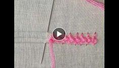 Hand embroidery Border line design Rose Embroidery, Hand Embroidery Designs, Embroidery Stitches, Brazilian Embroidery, Line Design, Design Tutorials, Biryani, Creative, Knot