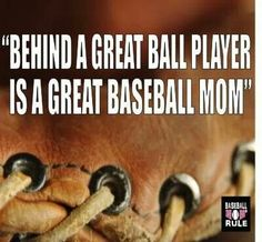 And a great baseball sister! ;) and now I a sports Mom! Which includes baseball!