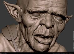 Gobelin -close-up- by Titouan OLIVE | 3D | CGSociety