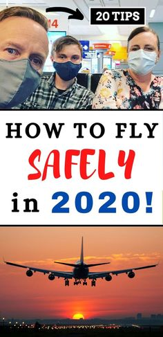 Are you planning an upcoming vacation or trip? Learn how to safely fly in 2020 with this informative step by step guide and easy suggestions for individuals, couples and families. #travel #safetravel #worldtravel #traveling #traveler #familytravel #familytrip #vacation #vacationideas #summertravelideas #summervacation #summervacationideas #travelphotography #traveldieas I Want To Travel, Travel With Kids, Us Travel, Family Travel, Travel Tips, Travel Hacks, Flying With Kids, Top Travel Destinations, Amazing Adventures