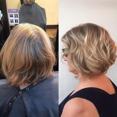 From drab to fab! Beautiful before and after by Barbie at Avant Garde, Destin, Fl.