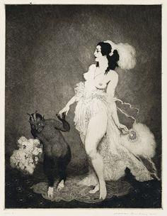 Norman Lindsay - Debut, 1920