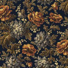 Opia velvet in Midnight | House of Hackney