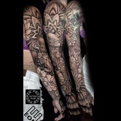Weird Tattoos, Unique Tattoos, Beautiful Tattoos, Megan Jean Morris, Kevin Johnson, Arm Sleeve Tattoos, Home Tattoo, Dream Tattoos, Neo Traditional Tattoo