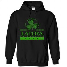 LATOYA-the-awesome - make your own shirt #tees #black zip up hoodie