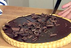Chocolate Tart   Delish!!!
