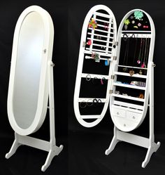 2014 new design factory directly original design Mirrored jewelry cabinet - from Alibaba.com