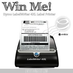 We're Giving Away a LabelWriter 4XL Label Printer! - Everything Etsy