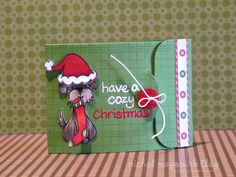How to make a gift card holder.