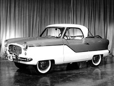 1953 Nash Metropolitan my birth year car!..Re-pin brought to you by agents of #carinsurance at #houseofinsurance in Eugene, Oregon