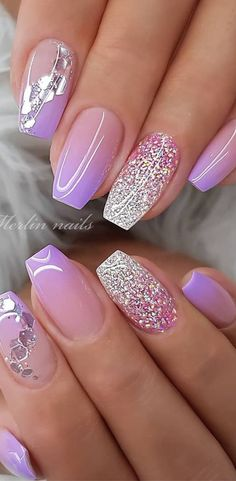 nail art designs for winter ; nail art designs for spring ; nail art designs with glitter ; nail art designs with rhinestones Pretty Nail Designs, Pretty Nail Art, Simple Nail Designs, Nail Art Designs, Awesome Nail Designs, Elegant Nail Art, Ombre Nail Designs, Nail Art Vintage, Vintage Wedding Nails