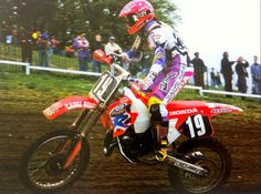 Mickael Pichon finished 5th overall in 1993 125cc