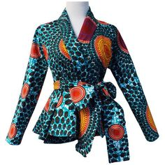Shop African Print (Ankara) Blouses, Crop Tops, Tops, Danshiki Tops, Peplum African tops from ATMkollectionz. The best online store for beautiful ready to wear African clothing for women and children. We carry all sizes for plus size curvy women. African Fashion Designers, African Inspired Fashion, Latest African Fashion Dresses, African Dresses For Women, African Print Dresses, African Print Fashion, Africa Fashion, African Attire, African Wear