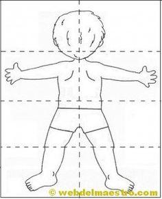 lateralidad: puzzle-espalda Fabric Dolls, Body Parts, Doll Patterns, Preschool Activities, Kids And Parenting, Human Body, Elementary Schools, Kindergarten, Autumn Art