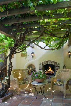 Внутренний дворик: 28 идей со вкусом для дизайна патио.   Красивый Дом и Сад