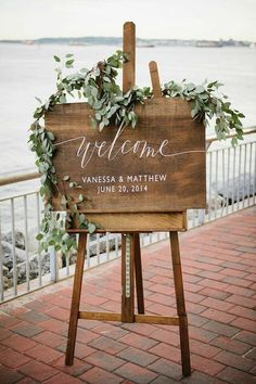 Happy Friday lovelies! With the weekend ahead of us, just some quick inspiration for today in the form of pretty wedding signage – part II! Enjoy the weekend! Credits: Mod Wedding   Related PostsA Golden TouchMerry Christmas!Christmas Countdown: Favorite Wedding IdeasDress of the Week – ChristosA Downtown Abbey-esque Wedding {Part II}Zemanta