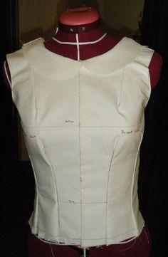Moulage : réalisation du corsage de base ~ Les pt'hiboux de couture