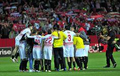 @Sevilla Los penaltis deciden semifinalista. Sufrió el #Sevilla para ganar una eliminatoria que igualó en dos ocasiones el Athletic, dando paso a la prórroga y por último, a una tanda de penaltis en la que David Soria detuvo el decisivo #9ine