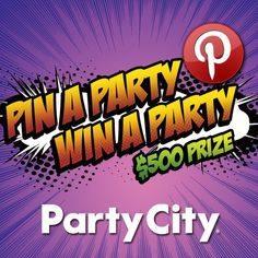 Pin your Halloween party essentials for a chance to win a $500 Party City shopping spree! Be sure to complete the entry form and get the details here: www.partycity.com... #partycity #halloween #pintowin