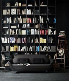 Shop SUITE NY for the Favn Sofa designed by Jaime Hayon for Fritz Hansen and more modern furniture including three-seater sofas. Cozy Home Library, Home Library Design, House Design, Modern Library, Library Ideas, Library Wall, Future Library, Dream Library, Sofa Design