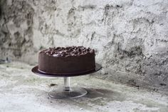 Děvče u plotny - Čokoládový dort