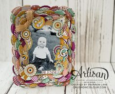 Crush On Colour: Petals & Paisleys Photo Phrame (er, Frame) - Stamp...