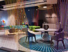 Stand #rochebobois au Salone Del Mobile à Milan #design #interiordecoration