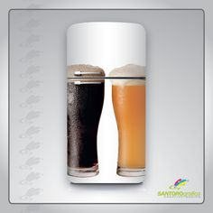 #ilmiofrigopersonalizzato #solodasantorografica adesivo per frigo - pinta di birra