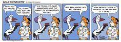 Like and Share everywhere! #wildmenagerie #wildmenageriecomic #comicstrip #comics #comic #funnies #dailyart #art #Sidney #tiger #crane  #endangered  #environment #conservation #tuna #charity  #cute #kawai #oc #handdrawn #ink #webcomic #color #vanessakcompton #vanessakcomptonart #January2018 #HopefulFor