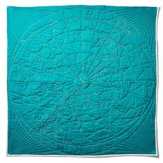 Stare down at the stars! Constellation Quilt - Original from Haptic Lab