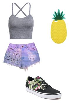 """Cute summer outfit"" by fungiral on Polyvore featuring Vans and Miss Selfridge"