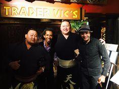 Alexander LP: Grandes del Sumo Japonés disfrutaron en la Noche C...
