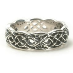 Infinity Wedding Band, Celtic Knot Ring, Celtic Wedding Ring, Celtic Wedding Band, Sterling Celtic Ring Handcrafted Ring in Your Size Celtic Knot Ring, Celtic Rings, Celtic Wedding Rings, Wedding Bands, Celtic Knots, Wedding Vows, Wedding Gifts, Wedding Dresses, Layered Necklaces Silver