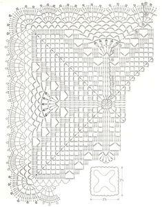 napperon carré 9. Plus