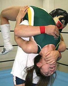Mixed Wrestling www.lady00wrestling.com DVD Schoolgirl