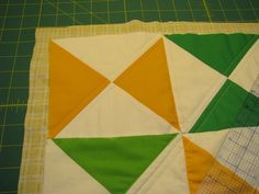Disclaimer: I am not a Real Quilter. I have never taken a quilting class before, nor do I have any other kind of training in the quilting department besides that which my mother dispensed in the rare moments I actually listened to her. I certainly did more eye rolling than listening as a general rule,Read more...