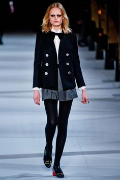 Fall 2014 RTW Saint Laurent Collection